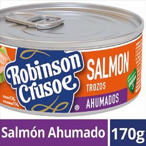 SALMON 170G TROZO AHUMADO ROBINSON CRUSOE