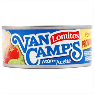 ATUN EN ACEITE VAN CAMPS 160G