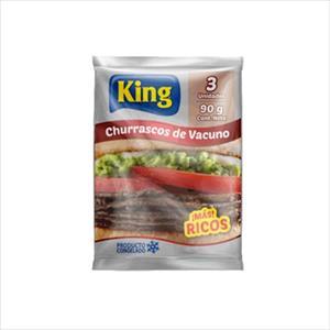 CHURRASCOS VACUNO 90G KING