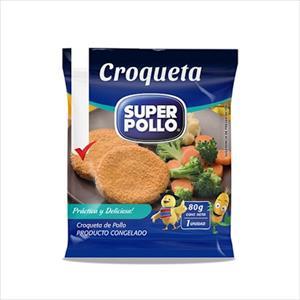 CROQUETA POLLO 80G SUPER POLLO