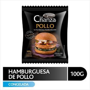 HAMB LA CRIANZA POLLO 100 GRS.