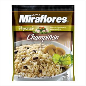ARROZ MIRAFLORES CHAMPIÑON