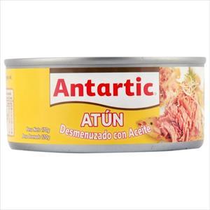 ATUN DESMENUZADO ACEITE 160G ANTARTIC