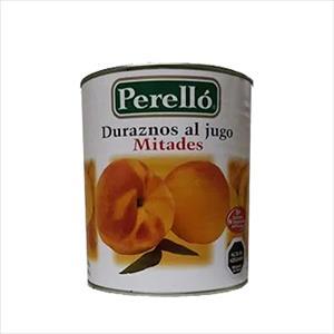 DURAZNO MITADES 580G PERELLO