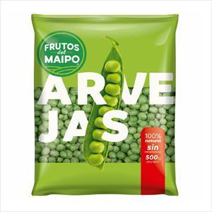 ARVEJAS 500G FRUTOS DEL MAIPO