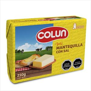 MANTEQUILLA COLUN 250G