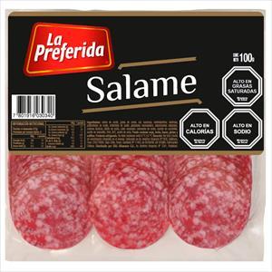 SALAME 100G LA PREFERIDA