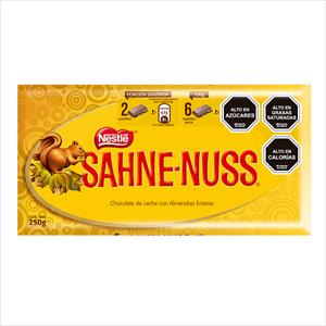 CHOCOLATE SAHNE NUSS 250G