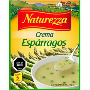CREMA NATUREZZA ESPARRAGOS