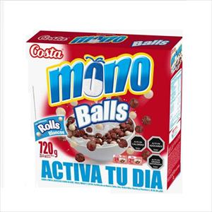 CEREAL MONO BALLS 720G BLANCOS