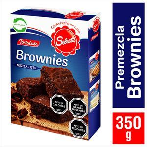 TORTALISTA SELECTA BROWNIES 350G
