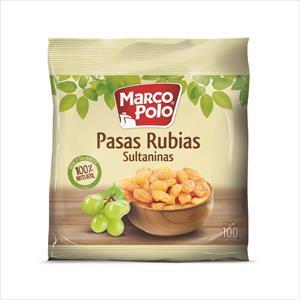 PASAS RUBIAS 100G MARCO POLO