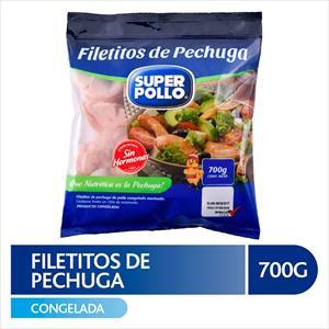 FILETITOS DE PECHUGA DE POLLO 700G