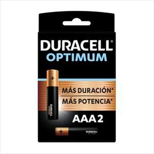 PILAS DURACELL OPTIMUM AAA 2U