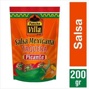 SALSA PANCHO VILLA TAQUERA PICANTE 200G